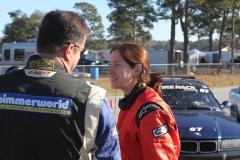 Racers between races